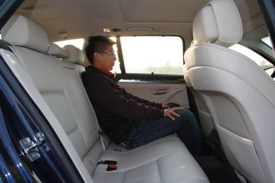 和讯汽车试驾宝马5系旅行版 驾驭高品质人生